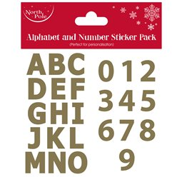 Alphabet and Number Sticker Pack