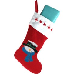 Flashing Christmas Stocking - 40cm