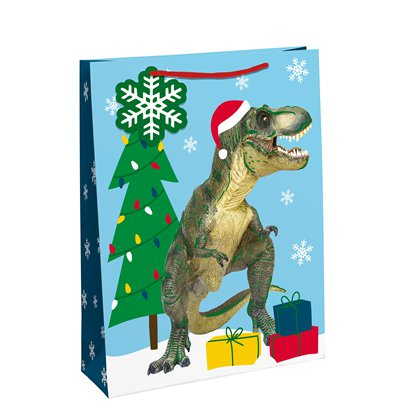 Dinosaur Gift Bag - Medium