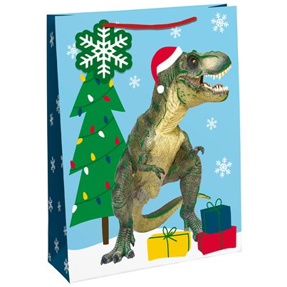Dinosaur Gift Bag - Extra Large