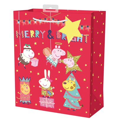 Peppa Pig Gift  Bag - Large