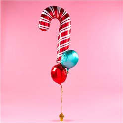 Candy Cane Balloon Bunch Kit