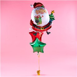 Santa Balloon Bunch Kit