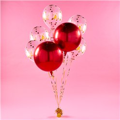 Red Orbz Balloon Bunch Kit