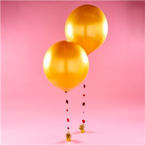 Gold Giant Balloon Kit