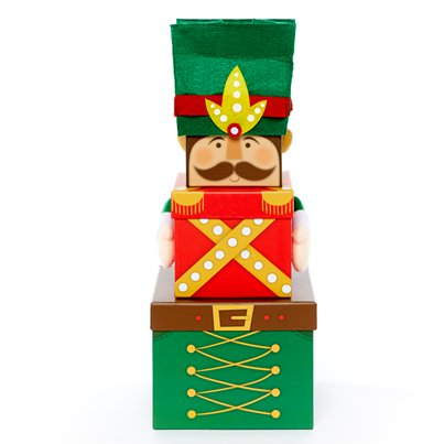 Nutcracker Triple Stacking Box - 35cm
