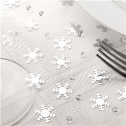 Snowflake Confetti & Diamante Table/Invite Confetti