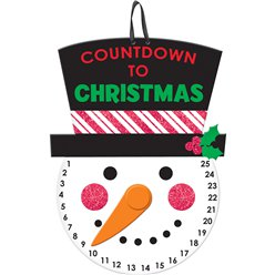 Countdown to Christmas Hanging Sign - 40cm x 25cm