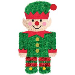 Tinsel Elf Decoration