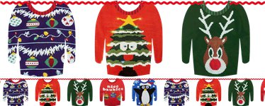 Christmas Jumper Garland - 3m