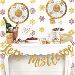 Let's Mistletoe Deluxe Buffet Decorating Kit