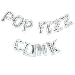 Pop Fizz Clink Balloon Bunting - 3m