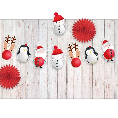 Christmas Balloon Garland Kit