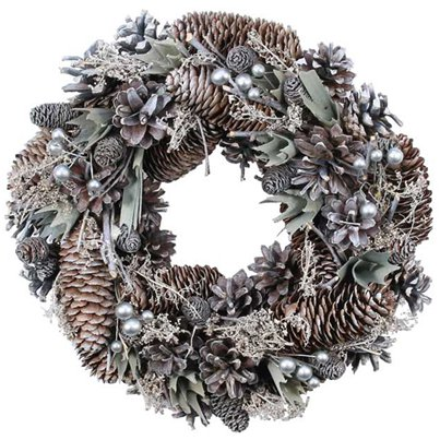 Silver Cloud Door Wreath - 30cm