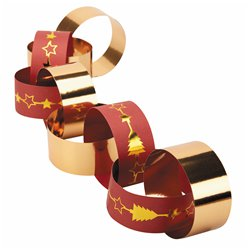Dazzling Christmas Paper Chains