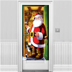 Santa Door Cover - 1.5m Christmas Decoration