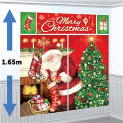 Magical Christmas Scene Setter Kit - 1.65m