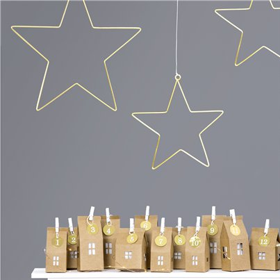 Star Metal Hanging Decorations