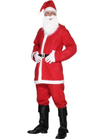 Santa Suit - Adult Costume front