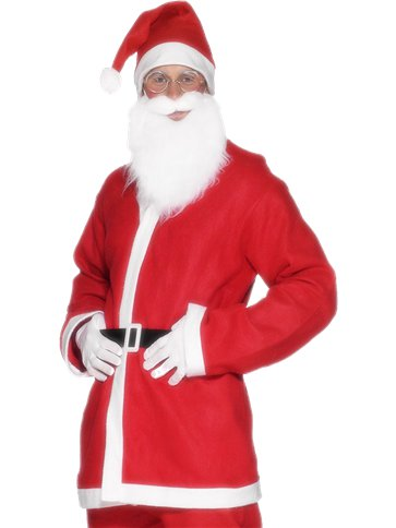 Santa Suit - Adult Costume left