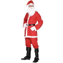 "Bargain Santa Suit - 42-44"" Chest"