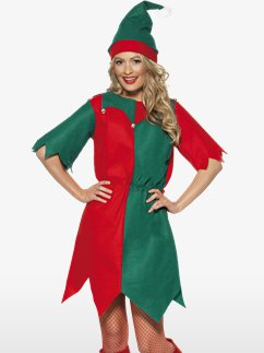 Elf Tunic Dress- Adult Costume