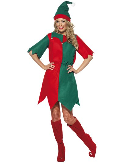 Elf Tunic Dress - Adult Costume