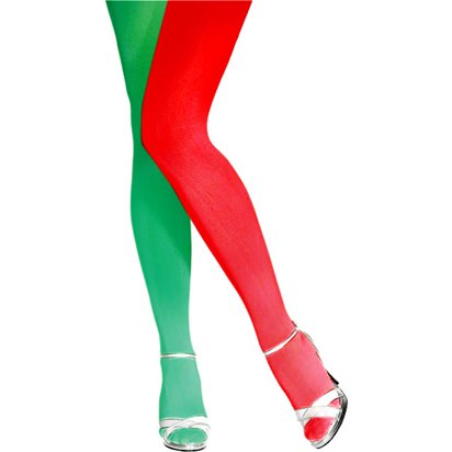 Elf Christmas Tights - Women's Tights One Size front