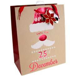 "Extra Large ""DO NOT OPEN"" Christmas Gift Bag - 45cm"