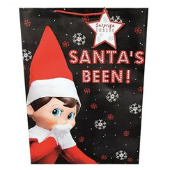 Elf on the Shelf Extra Large Christmas Gift Bag - 45cm