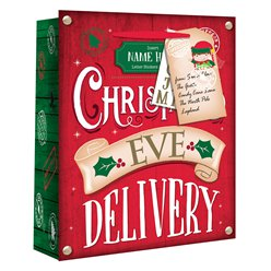 Extra Large Christmas Eve Personalised Delivery Gift Bag - 45cm