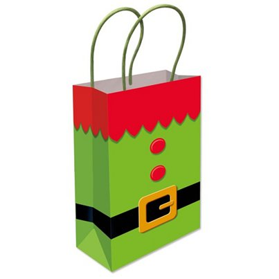 Elf Tunic Paper Gift Bag - 22cm