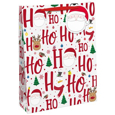 Ho Ho Ho Double Bottle Bag