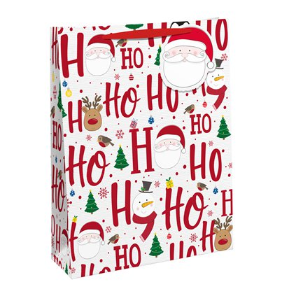 Ho Ho Ho Large Gift Bag