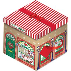 Toy Shop Christmas Box - 28cm
