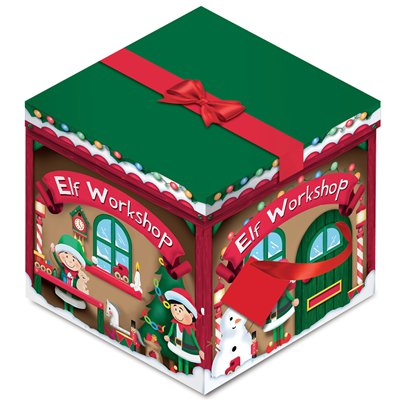 Elf Workshop Box - 28cm