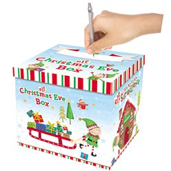 Elf Christmas Eve Box - 28cm