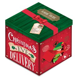 Deluxe Christmas Eve Personalised Delivery Gift Box - 28cm