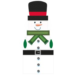 Snowman Christmas Stacking Gift Boxes - 35cm