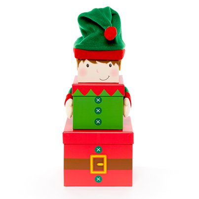 Elf Plush Stacking Box * 35cm