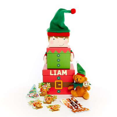 Personalised Elf Stacking Box Kit