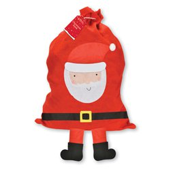 Large Santa with Hanging Legs Christmas Sack - 93cm