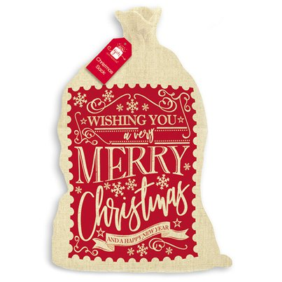 Wishing You A Merry Christmas Sack - 73cm