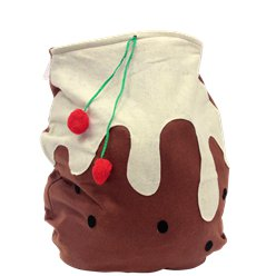 Fleece Christmas Pudding Sack - 62cm
