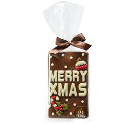 Merry Xmas Chocolate Bar