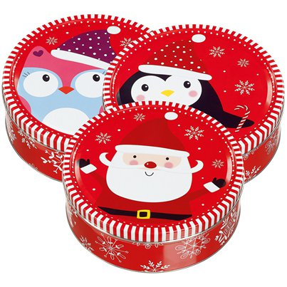Christmas Tins of Danish Butter Cookies