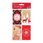 Cosy Kraft Coordinating Christmas Gift Tags