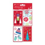 Festive Fun Coordinating Christmas Gift Tags