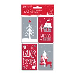 Opulant Wonder Coordinating Christmas Gift Tags