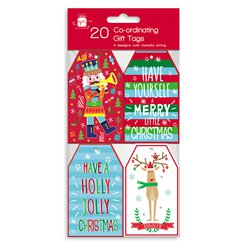 Festive Fun Co-ordinating Christmas Gift Tags